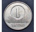 Монета 1 лит 2002 г - Хобби в Крыму