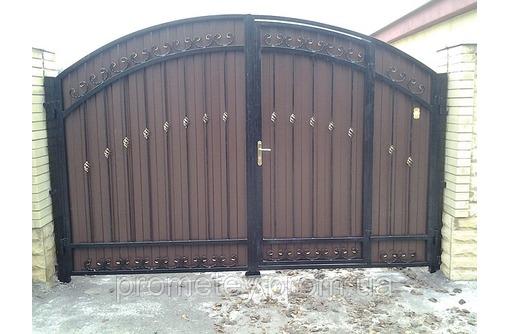 Металлические ворота и калитки - Заборы, ворота в Алуште