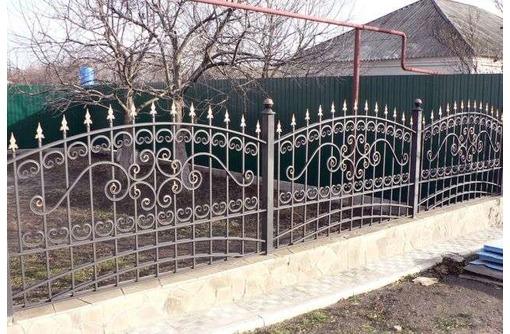 Кованые металические заборы - Заборы, ворота в Алуште