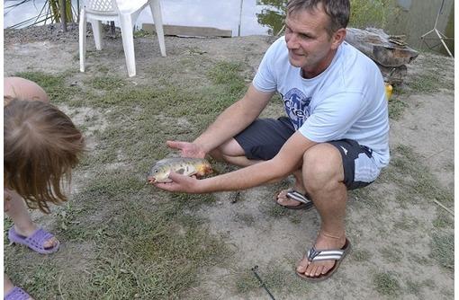 Рыбалка  в  Голубинке,  Крым, горы,  озеро. - Отдых, туризм в Севастополе