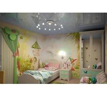 Европейские натяжные потолки в Детской - Натяжные потолки в Крыму