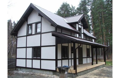 Каркасные дома под ключ .ОТ 10000 руб, фото — «Реклама Севастополя»