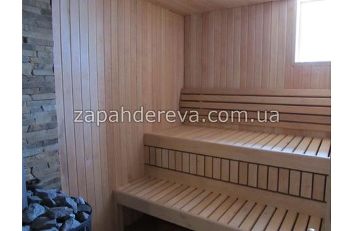 Лежак из ольхи для лавок саун, бань, яхт и др., фото — «Реклама Севастополя»