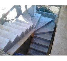Бетонные работы. Фундамент. Колонны. Лестница - Лестницы в Севастополе
