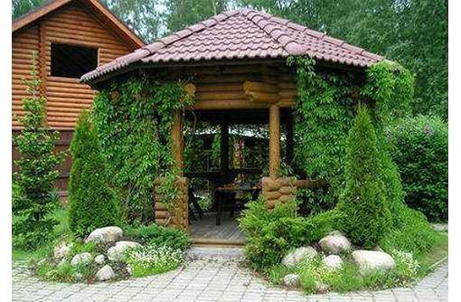 Оформление двора частного дома - Строительные работы в Севастополе