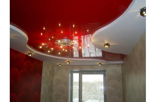 LuxeDesign натяжные потолки в Гостинной-настоящее качество - Натяжные потолки в Саках