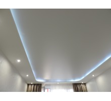 Натяжной потолок за 1 день – качественно и красиво, простые и двухуровневые потолки любой сложности - Натяжные потолки в Евпатории