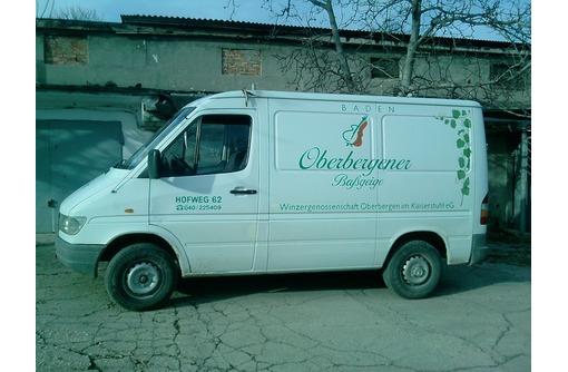 Грузоперевозки микроавтобусом «Мерседес» 1,5 тонны, фото — «Реклама Севастополя»