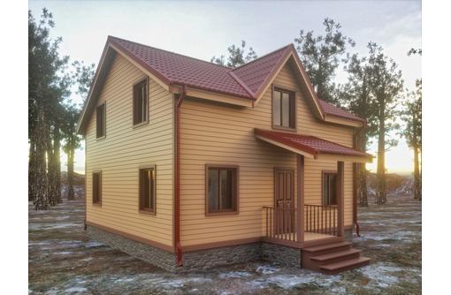 Настоящие каркасные дома ! Проект- подарок! - Строительные работы в Севастополе