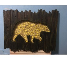 "Картина-панно ""Медведь"" - Рукоделие в Симферополе"