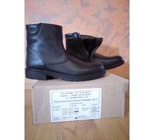 Продаются новые мужские полусапоги размер 43/277 кожа натуральная,овчина меховая - Мужская обувь в Севастополе