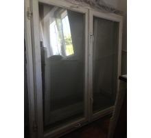 Продам окна деревянные (к ним металлические решетки) (б/у) - Окна в Евпатории