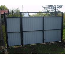 Ворота и калитки каркас с доставкой - Заборы, ворота в Армянске