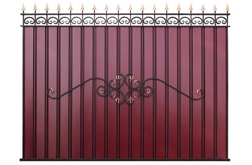 Заборы из профнастила, сетки Рабицы, сварные, Ворота, Калитка - Заборы, ворота в Севастополе