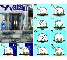 Тепличная пленка (vatan plastik) Турция150мкм,16*50м - Саженцы, растения в Симферополе