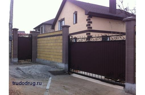 Все виды ворот автоматических: откатные, роллетные, секционные. - Заборы, ворота в Севастополе
