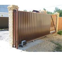 Автоматические ворота откатные дворовые - Заборы, ворота в Севастополе