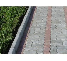 Бордюр парковый серый 650х220х75мм - ЖБИ в Симферополе