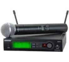 Радиосистема Shure-SLX24-SM58-R5 - Студийное и концертное оборудование в Крыму