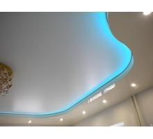 Натяжной потолок с подсветкой - Натяжные потолки в Евпатории