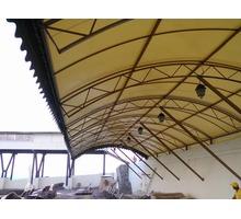 Тентовые покрытия – ООО «Крымская тентовая компания». От эскиза до изделия - Металлические конструкции в Ялте