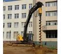 Гидровращатель ямобур гидробур на экскаватор, автокран, манипулятор - Продажа в Севастополе