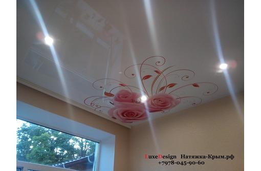 Художественные натяжные потолки Фотопечать, фото — «Реклама Бахчисарая»