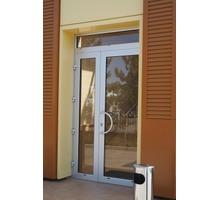 Распашные двери из металлопластика - Входные двери в Судаке