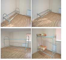 Кровати металлические армейского типа. - Специальная мебель в Феодосии