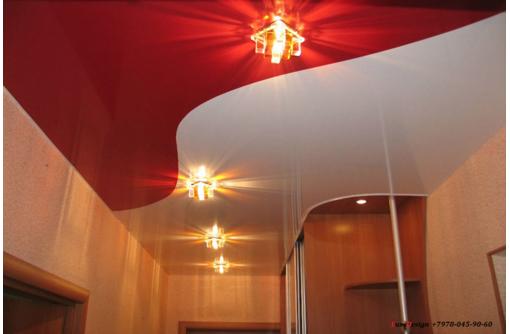Комбинированные натяжные потолки LuxeDesign - Натяжные потолки в Саках