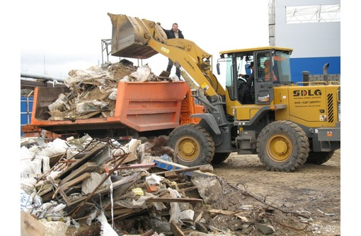 Вывоз строительного мусора, земли, мебели, хлама и т.д. - Вывоз мусора в Феодосии