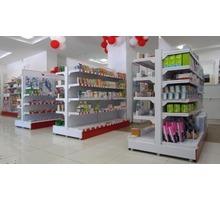 Купить торговые стеллажи для магазина в Крыму - Продажа в Евпатории