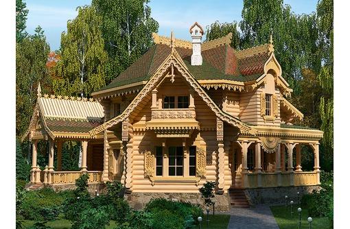 Русская деревянная изба по технологии предков - Строительные работы в Севастополе