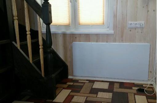 Отопительная инфракрасная панель СТЕП-500/1,80*0,59 настенная белая, фото — «Реклама Севастополя»