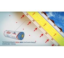 Теплоизоляция Ursa Geo Скатная крыша 3900х1200х150 мм - Прочие строительные материалы в Севастополе