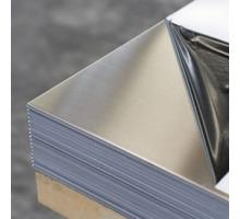 Лист нержавеющий AISI 430, BA+PE (зеркало в пленке) 0,5*1000*2000 мм - Металлические конструкции в Севастополе