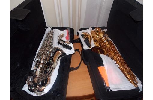 Альт саксофоны-Justin и Lade новые, фото — «Реклама Севастополя»