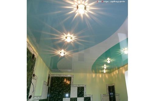 Комбинированные натяжные потолки LuxeDesign - Натяжные потолки в Алуште