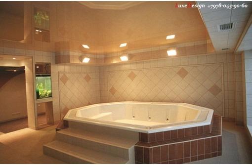 Натяжные потолки в ванной LuxeDesign - Натяжные потолки в Алуште