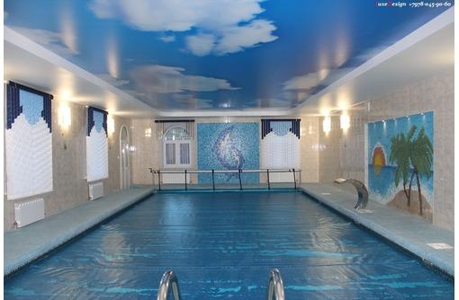 Натяжные потолки в бассейне LuxeDesign - Натяжные потолки в Алуште