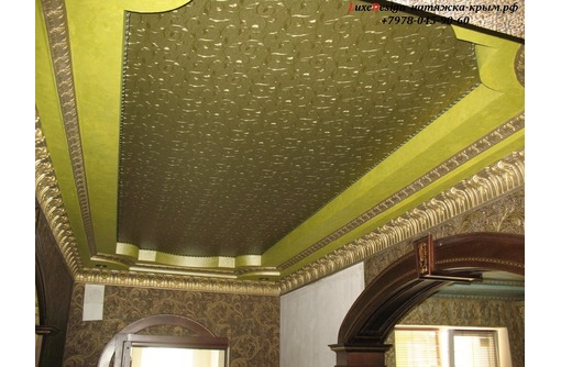 Декоративные натяжные потолки LuxeDesign - Натяжные потолки в Алуште