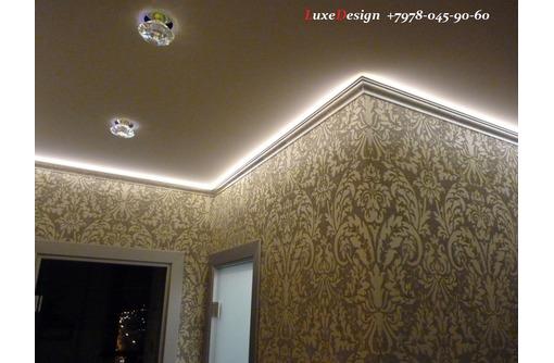Парящие натяжные потолки LuxeDesign - Натяжные потолки в Алуште