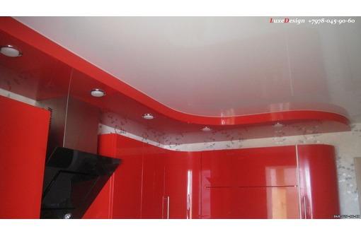 Многоуровневые натяжные потолки  LuxeDesign - Натяжные потолки в Алуште