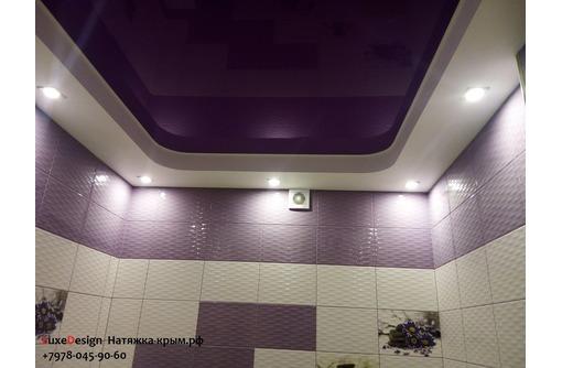 Натяжные потолки в ванной LuxeDesign - Натяжные потолки в Саках