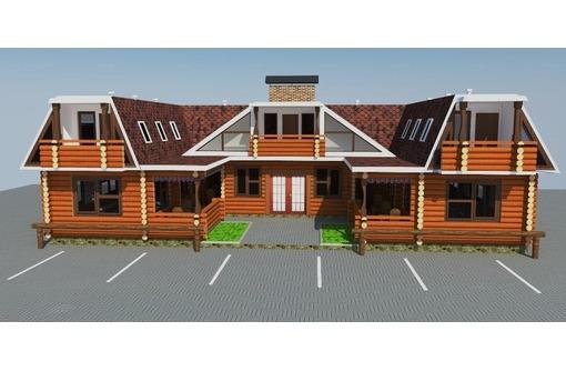 Строим постоялый двор с харчевней. Деревянные дома., фото — «Реклама Севастополя»