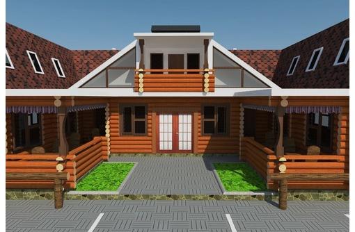 Строим постоялый двор с харчевней. Деревянные дома. - Строительные работы в Севастополе