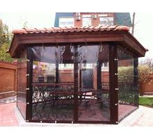 Прозрачные шторы ПВХ для беседки веранды - Садовая мебель и декор в Севастополе