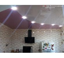 Комбинированные натяжные потолки-криволинейная спайка - Натяжные потолки в Крыму