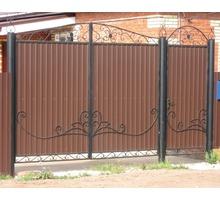 Ворота из профнастила в Севастополе - Заборы, ворота в Севастополе