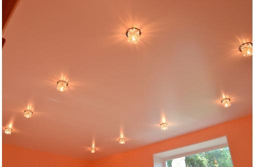 Сатиновые натяжные потолки  эффект идеально выкрашенного потолка - Натяжные потолки в Белогорске